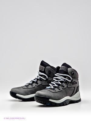 Ботинки Columbia. Цвет: темно-серый