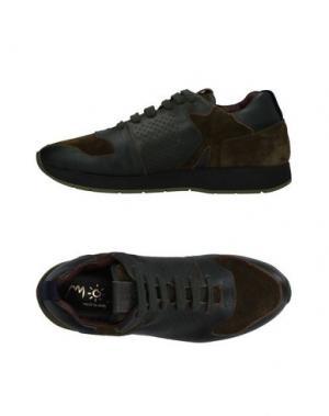 Низкие кеды и кроссовки MOS. Цвет: темно-зеленый