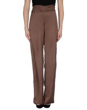 Повседневные брюки RE.SET. Цвет: какао