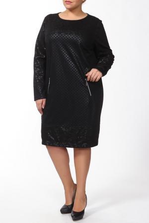 Платье-Туника Maxima. Цвет: черный
