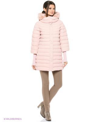 Куртка FREYA. Цвет: розовый
