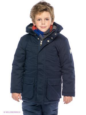 Куртка Sanetta. Цвет: темно-синий