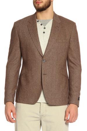 Пиджак Paul Smith. Цвет: коричневый