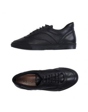 Низкие кеды и кроссовки FIORANGELO. Цвет: черный