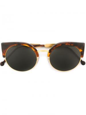 Солнцезащитные очки Ilaria Havana Retrosuperfuture. Цвет: коричневый