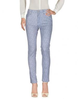 Повседневные брюки FRENCH CONNECTION. Цвет: синий