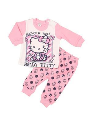 Пижама M-BABY. Цвет: розовый