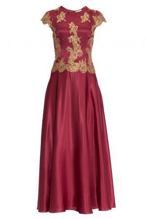 Платье из шелка 155679 Charisma. Цвет: красный