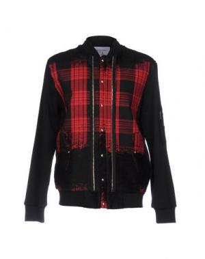 Куртка LES BENJAMINS. Цвет: красный