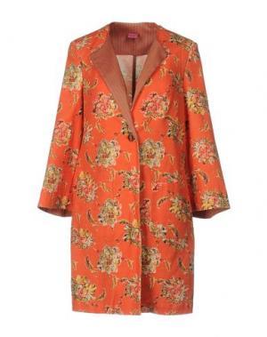 Легкое пальто SAVE THE QUEEN. Цвет: оранжевый