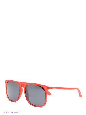 Солнцезащитные очки Polaroid. Цвет: красный, антрацитовый