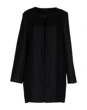 Легкое пальто FISICO-CRISTINA FERRARI. Цвет: черный