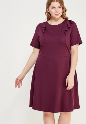 Платье Dorothy Perkins Curve. Цвет: фиолетовый