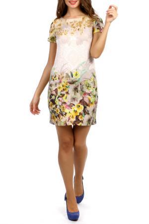 Платье Duse. Цвет: мультицвет
