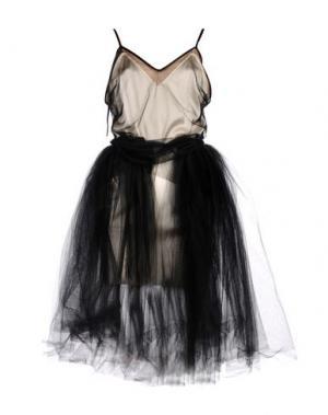 Платье до колена LOYD/FORD. Цвет: черный