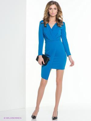 Платье ELENA FEDEL. Цвет: синий