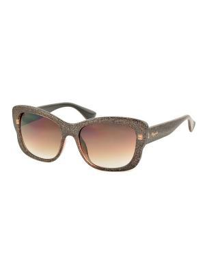 Солнцезащитные очки MEGAPOLIS. Цвет: коричневый