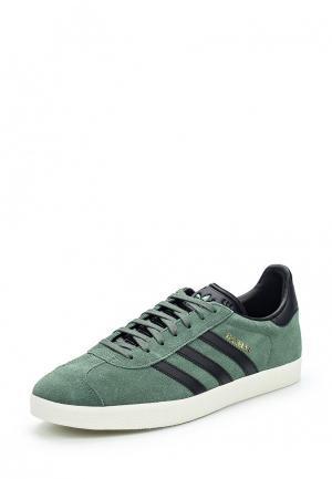 Кеды adidas Originals. Цвет: зеленый