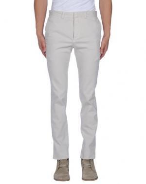 Повседневные брюки GENTRYPORTOFINO. Цвет: светло-серый