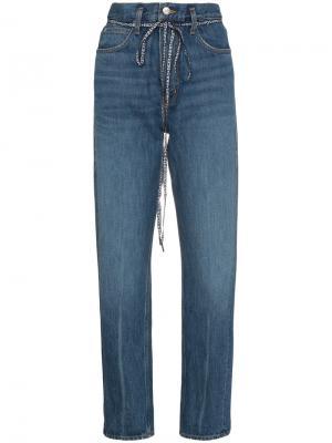 Мешковатые джинсы PSWL Proenza Schouler. Цвет: синий