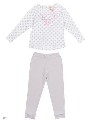 Пижама Ritta Romani. Цвет: белый, сиреневый