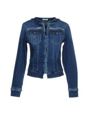 Джинсовая верхняя одежда CARLA G.. Цвет: синий