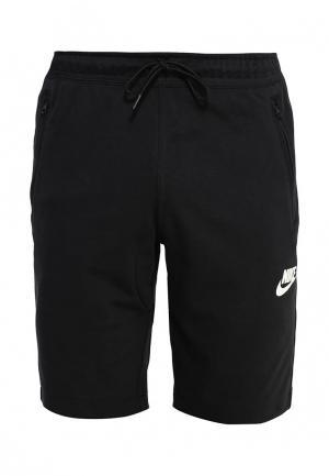 Шорты Nike. Цвет: черный