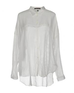 Pубашка WALTER VOULAZ. Цвет: слоновая кость