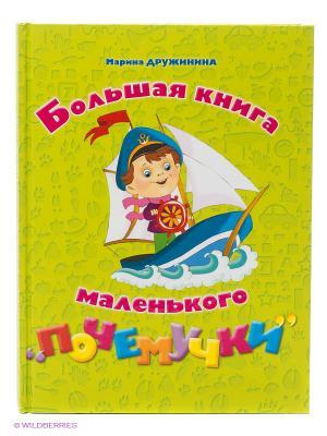 Большая книга маленького почемучки Эксмо. Цвет: зеленый