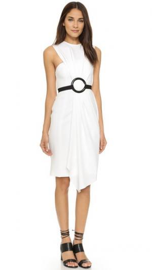 Платье Etta KEMPNER. Цвет: белый