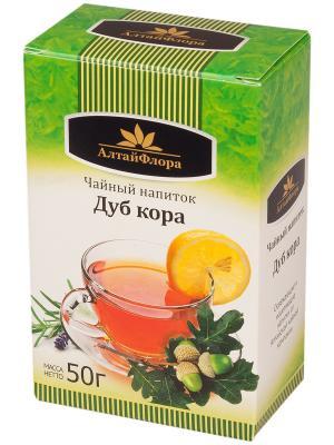 Напиток чайный  Дуб кора АлтайФлора. Цвет: светло-зеленый