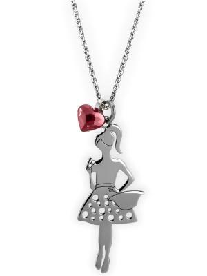 Ожерелье NAVELL. Цвет: серебристый, красный