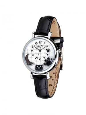 Наручные часы MN2020black Mini.. Цвет: черный, серебристый