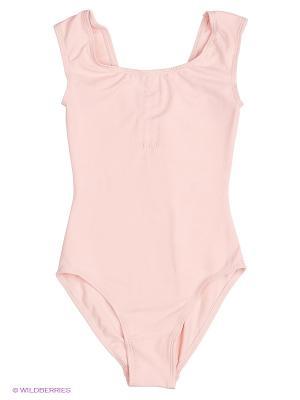 Гимнастический купальник SOLO. Цвет: бледно-розовый