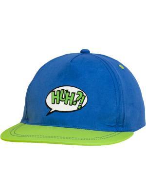 Бейсболки YO!. Цвет: зеленый, голубой
