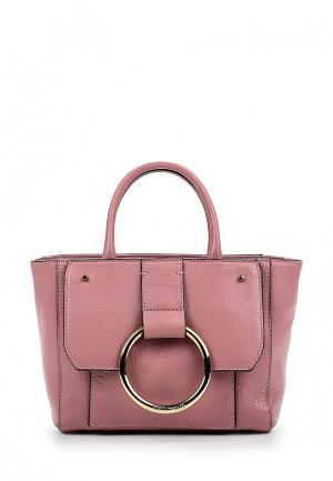Сумка Coccinelle. Цвет: розовый