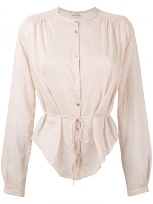 Sheer blouse Forte. Цвет: телесный