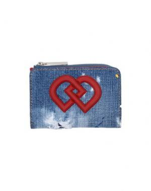 Бумажник DSQUARED2. Цвет: синий