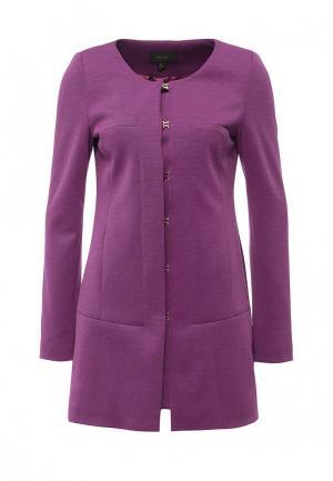 Пальто Piena. Цвет: фиолетовый