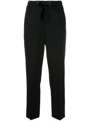 Укороченные брюки на шнурке Dorothee Schumacher. Цвет: чёрный