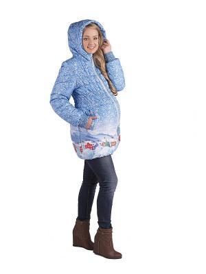 Куртка ДушеГрея. Цвет: голубой