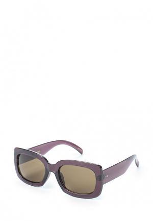 Очки солнцезащитные Mango. Цвет: фиолетовый