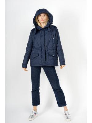 Куртка BURLO. Цвет: темно-синий