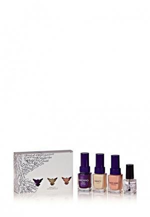 Набор лаков для ногтей Christina Fitzgerald. Цвет: разноцветный