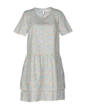Короткое платье CHINTI AND PARKER. Цвет: светло-зеленый