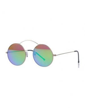 Солнечные очки SPEKTRE. Цвет: платиновый
