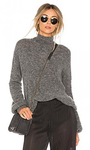 Пуловер independent Lovers + Friends. Цвет: серый