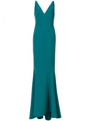 Вечернее платье с глубоким вырезом Likely. Цвет: зелёный