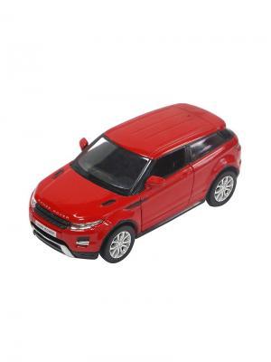 Машинка Инерционная Land Rover Range Evoque, Красная (1:32) (PS-554008-R) Pit Stop. Цвет: красный