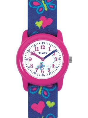 Часы TIMEX. Цвет: розовый, синий